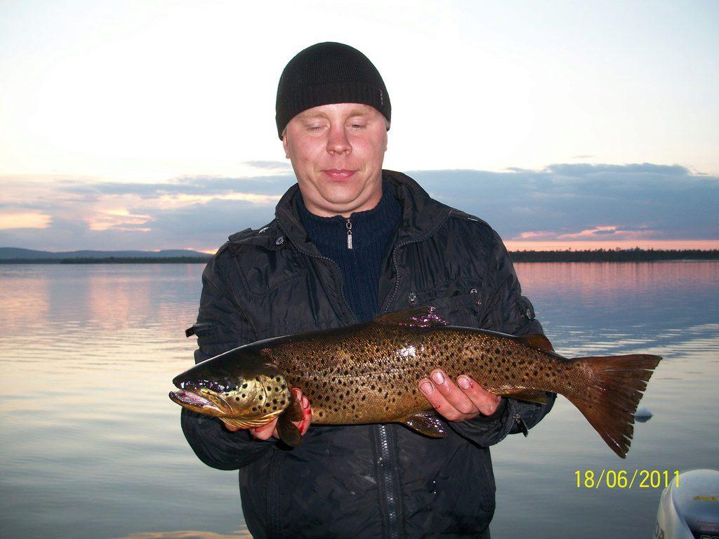речная рыбалка в мурманской области